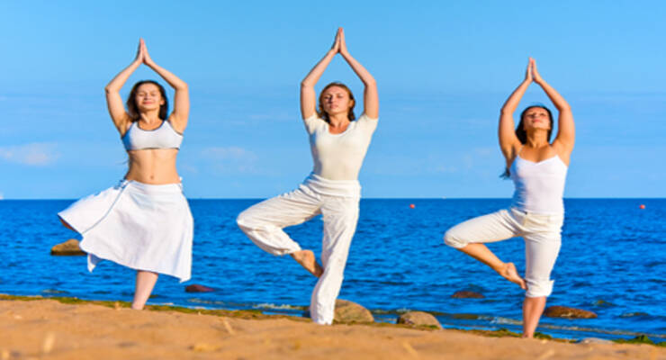 Фото к статье: Фитнес-перезагрузка с Натальей Бахиревой: йога-тур на Тенерифе и мастер-классы в Москве