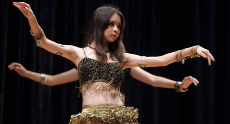 Фото к статье: Светлана Абу-Хардан о том, что общего у йоги и танца живота