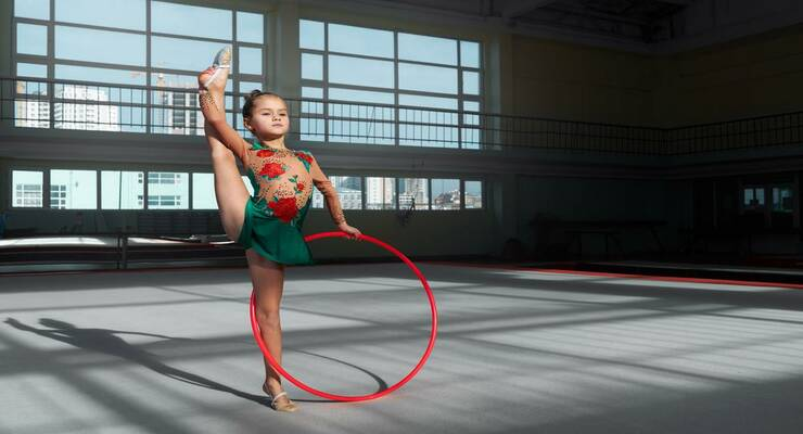 Фото к статье: Вырастить чемпиона: как понять, есть ли у ребенка склонность к гимнастике