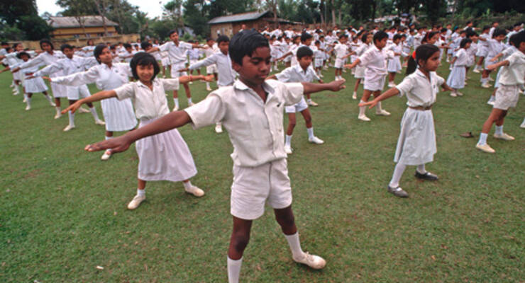 Фото к статье: Рави Кумар Довлуру об индийском взгляде на йогу