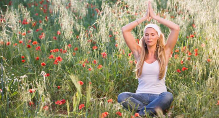 Фото к статье: Инна Видгоф: основы йоги для новичков и не только