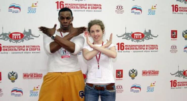 Фото к статье: Фитнес-конвенция-2010: «ЖИВИ!» на танцполе