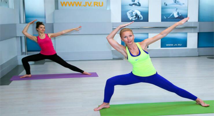 Фото к статье: Фитнес-видео: «Фитнес-баланс»