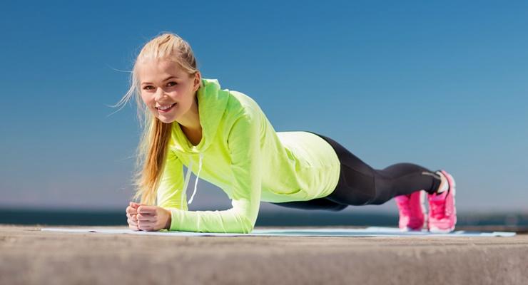 Фото к статье: Упражнение планка: правила и варианты (ФОТО)