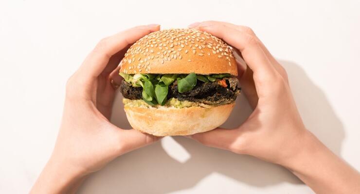 Фото к статье: Как приготовить вегетарианский бургер